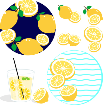 レモンコースターとレモネード