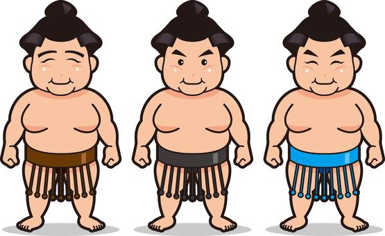 Sumo wrestler · 3