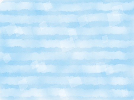 Blue border watercolor background