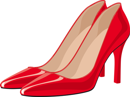 High Heel Pumps Red