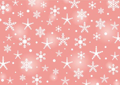 Snowy crystal 4 Background