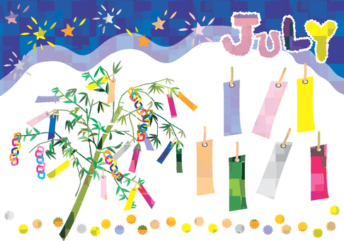Tanabata decoration