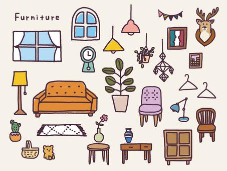 Furniture coloring