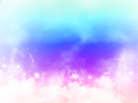구름 배경 2