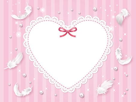 하트 레이스 봄빛 카드 01