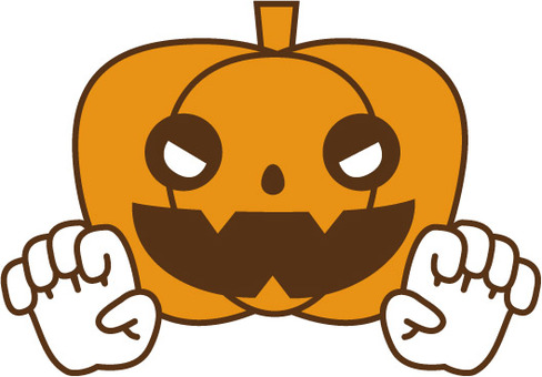 Threatening pumpkin