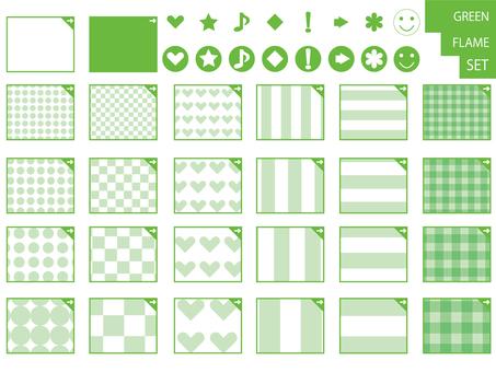 Other frame 15 _ set _ green