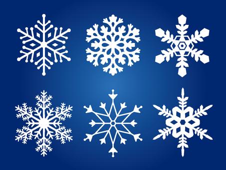 Winter illustration material 02