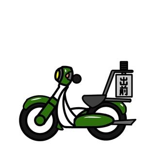 배달 오토바이