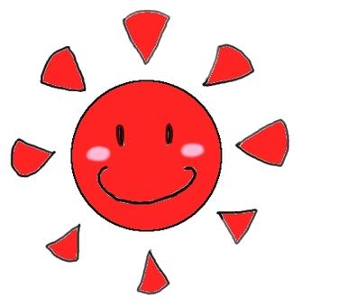 The sun さ ん さ ん