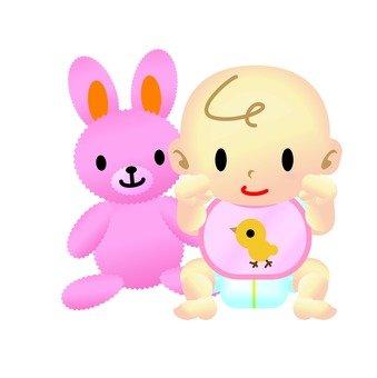 Baby & Plushie 01