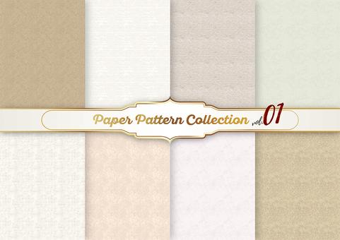 종이 패턴 소재 01