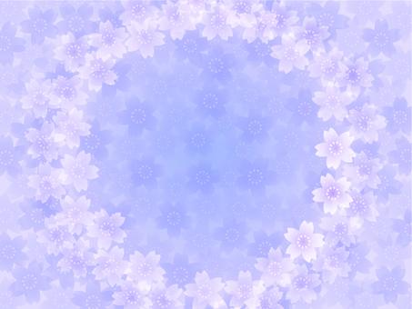 櫻花框架C(淡紫色)