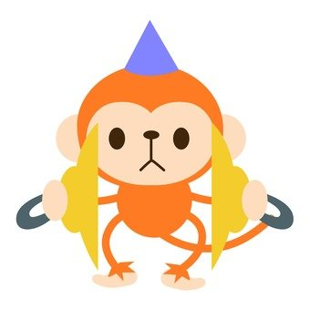 Monkey cymbal