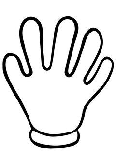 Rock-paper-scissors, palm