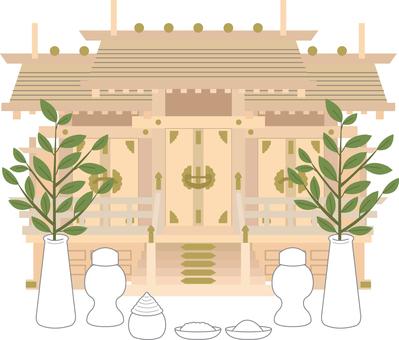 【Occasion】 Shinto shrine equipment