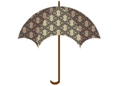 Arabesque pattern umbrella 2