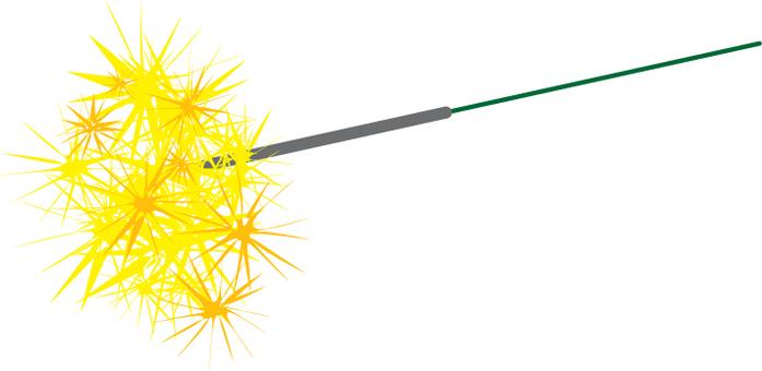 Handheld fireworks _ gray