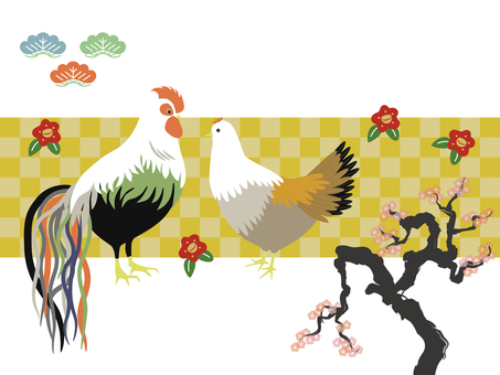 Oga chicken and plum tree 3