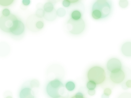 ぼかし気泡「グリーン」