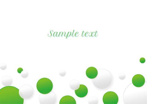 綠色和白色_背景