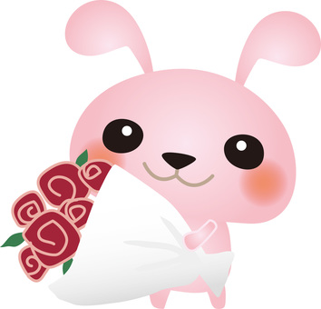 Rabbit bouquet