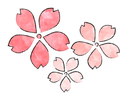 桜・Flower·Watercolor