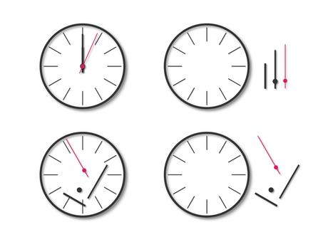 壊れた時計のイメージ