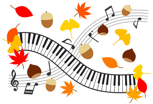Autumn music image