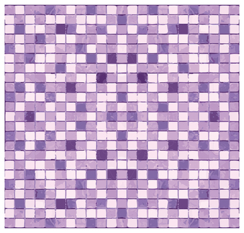 Mosaic tile purple