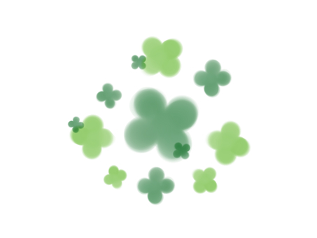 Four leaf & clover