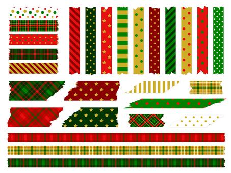 Tear-Off Masking Tape (Christmas)