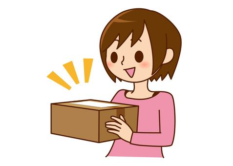 Women who receive packages