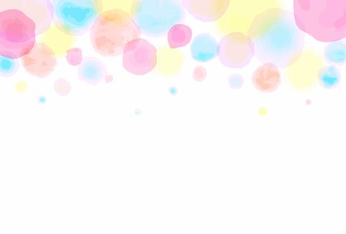 水彩画風背景04