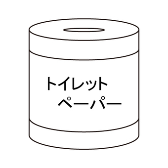 Disaster / disaster prevention (toilet paper)