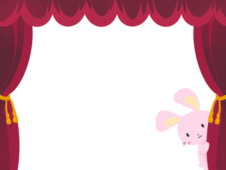 Curtain to rabbit
