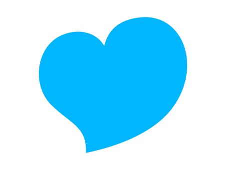 Heart 03 blue