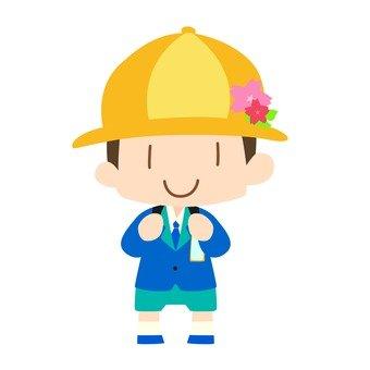 First grade student (boy)