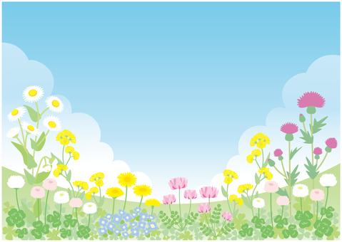 봄의 들판 01