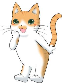 Cat character 4