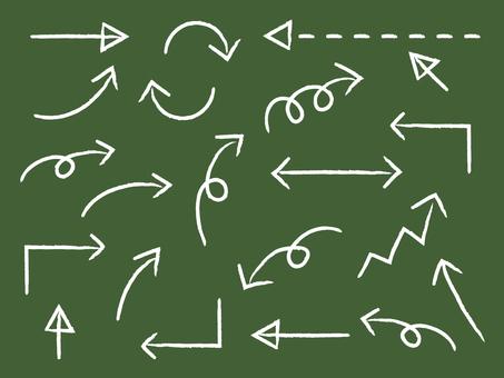 Choke style arrow set