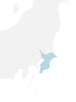 Dot map Chiba 1