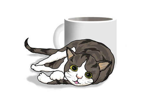 Cats and mugs
