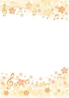 벚꽃 흐르는 음표 4
