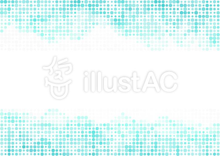 ドットテクスチャ-青のイラスト