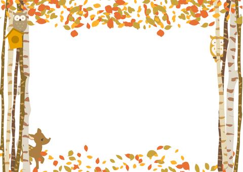 秋に使えるかもしれない背景素材 動物の森