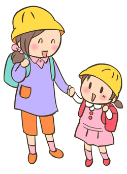 Randoseru elementary school student -4