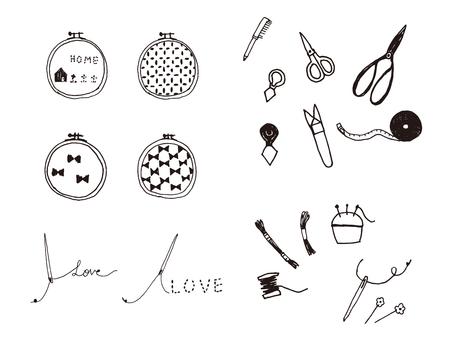 Embroidery, handicraft