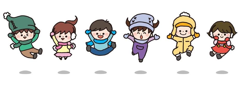 Children (Jump / Winter version)