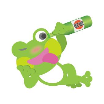 Frog (one liter bottle)